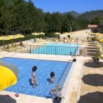 camping avec piscines en provence