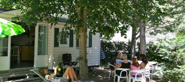 location d'hébergement au camping