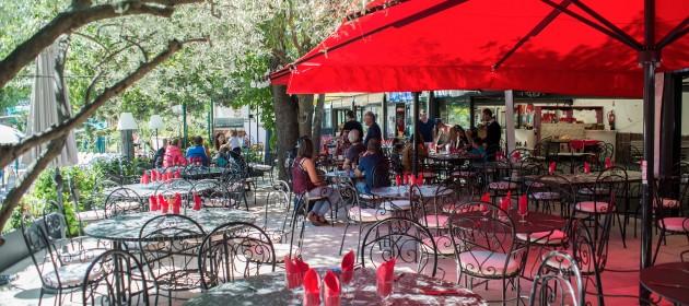 camping avec restaurant en Provence