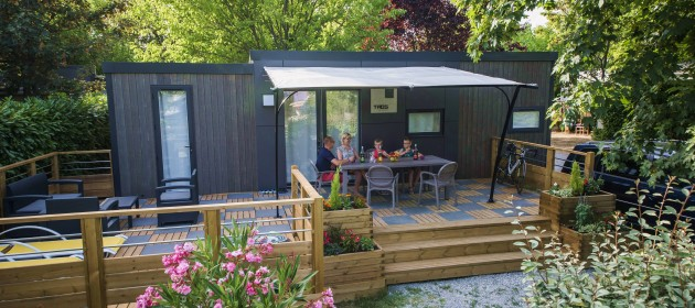 location mobile home de luxe