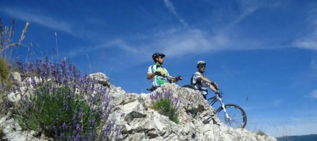 VTT, randonnée, équitation en haute Provence